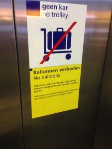 Ballonnen Verboden