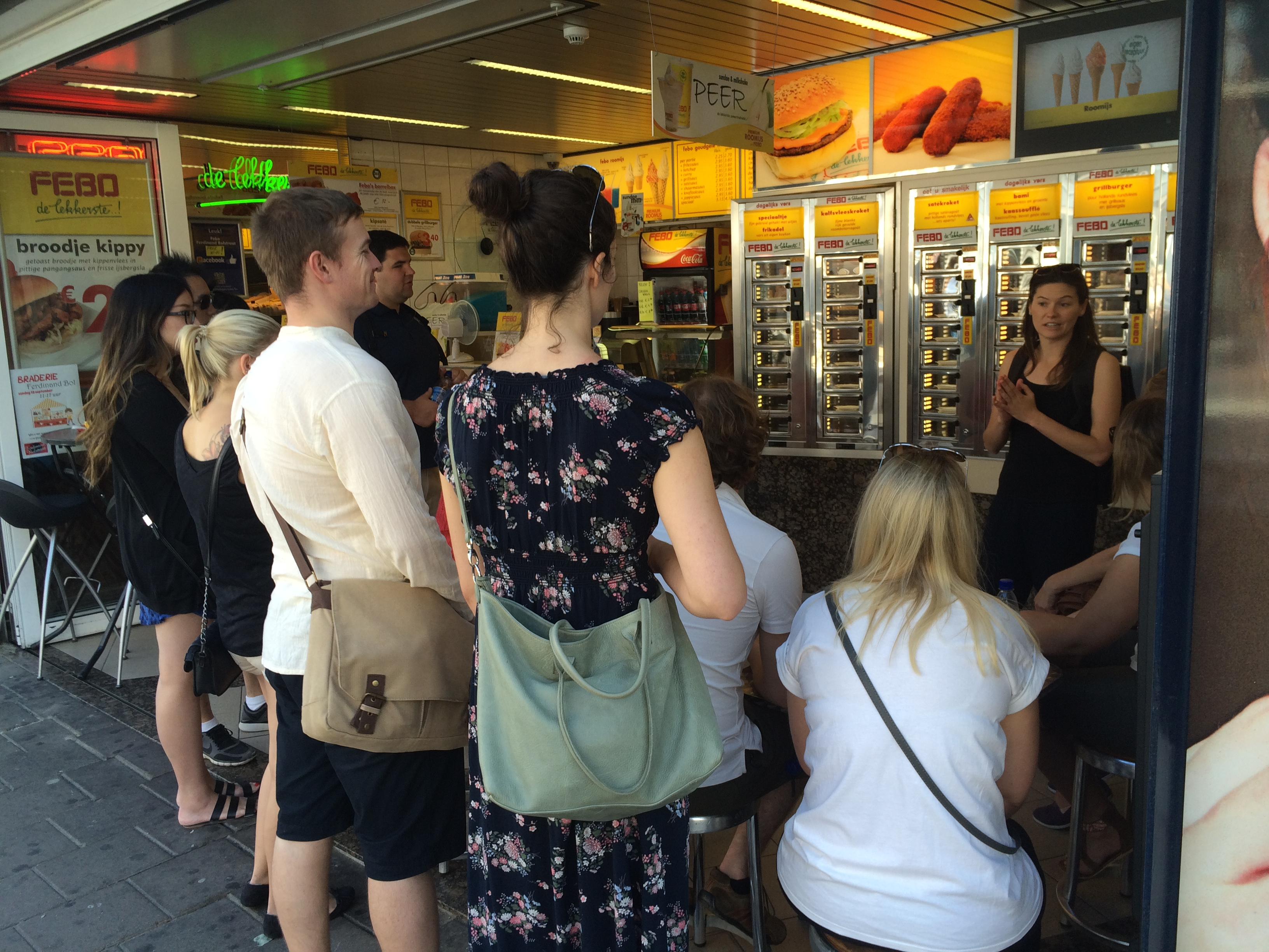 Guided tour at FEBO